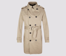 Mantel BASTILLE Herren braun