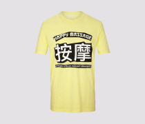 T-Shirt RUFUS_HAPPY2 Herren gelb