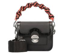 Clasp Handtasche Leder 24 cm
