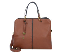 Lane Handtasche Leder 31 cm medium brown