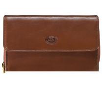 Story Line Donna Geldbörse Leder 18 cm marrone