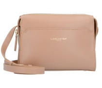 Camelia Mini Bag Umhängetasche Leder 19 cm naturel