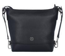 Fantasy Elif Tasche Leder 24 cm black
