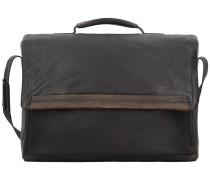 Camden Aktentasche Leder 41 cm Laptopfach dark brown