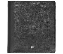 French Classic 3.0 BillFold V11 Geldbörse Leder 10 cm black