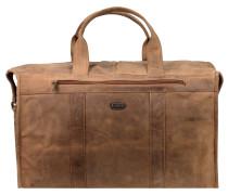 Antik Weekender Reisetasche Leder 50 cm natur