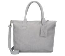 Bag Nelson Schultertasche Leder 35 cm grey