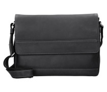 Do it Messengerbag Leder 37 cm schwarz