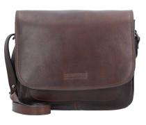 Lucca Handtasche Leder 26 cm braun