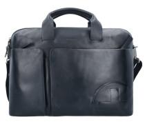 Jones Aktentasche Leder 40 cm Laptopfach black