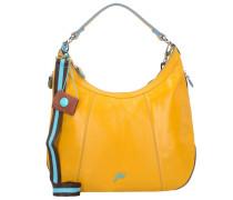 Allison Schultertasche Leder 39 cm giallo