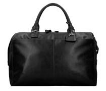 Weekender Reisetasche 52 cm Leder schwarz