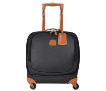 Magellano 4-Rollen Business Trolley 39 cm black/brown