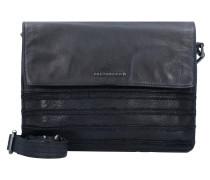 Brace Umhängetasche Leder 28 cm black