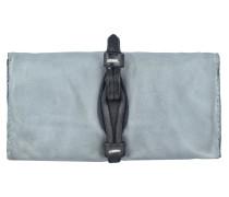 Geldbörse Leder 19 cm grigio
