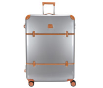 Bellagio Metallo 4-Rollen Trolley 76 cm silberfarben