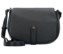 Ramona Umhängetasche Leder 22 cm schwarz
