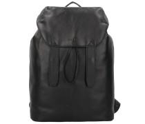 Die Zeit 15 Rucksack Leder 38,5 cm black