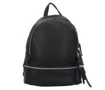 Lotta7 Rucksack Leder 32 cm black