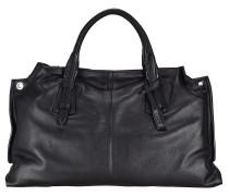 Victory Handtasche Leder 40 cm black