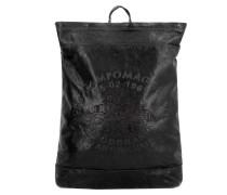 Boldo City Rucksack Leder 45 cm nero