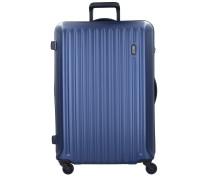 Riccione 4-Rollen Trolley 78 cm blue-n