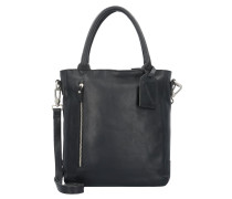 Bag Luton Medium Handtasche Leder 30 cm Laptopfach black
