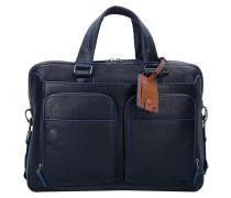 Blue Square Special Aktentasche Leder 39 cm Laptopfach blu