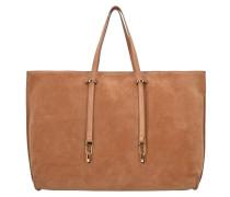 Iggy Suede Shopper Tasche Leder 40 cm cuoio