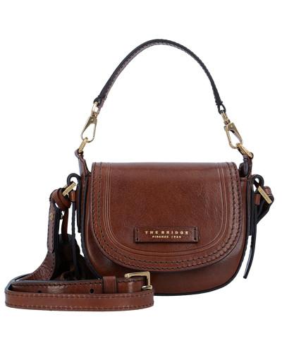 The Bridge Damen Pearldistrict Handtasche Leder 16 cm marrone Billig Verkauf Manchester Großer Verkauf Viele Arten Von Online-Verkauf j0RGv