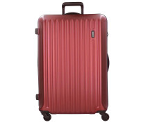 Riccione 4-Rollen Trolley 78 cm red