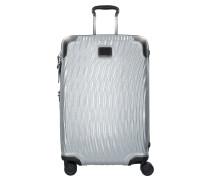 Latitude International 4-Rollen Trolley 68 cm silvercolored