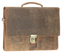 Antico Aktentasche Leder 38 cm