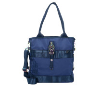 Magic Maki Schultertasche 34 cm navy rainbow