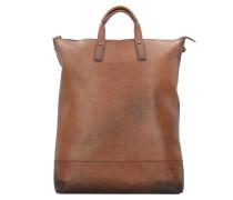 Randers X-Change 3in1 Bag L Rucksack Leder 47 cm Laptopfach cognac