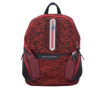 Coleos Business Rucksack 36 cm Laptopfach red