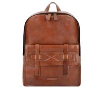 Casentino Rucksack Leder 40 cm marrone tb rut.sc.opaco