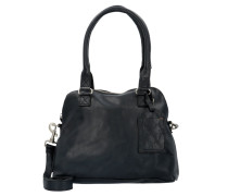 Bag Carfin Umhängetasche Leder 36 cm black