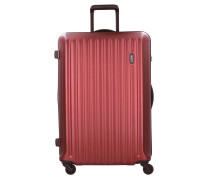 Riccione 4-Rollen Trolley 69 cm red