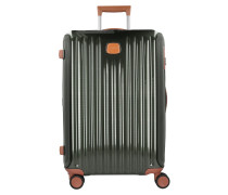 Capri 4-Rollen Trolley 69 cm black brown