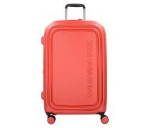 Logoduck 4-Rollen Trolley 69 cm flame scarlet