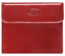 Story Uomo Geldbörse VIII Leder 10 cm rosso ribes