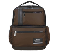 Openroad Business Rucksack Leder 42 cm Laptopfach chestnut brown