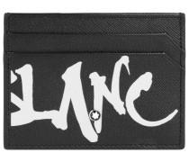Sartorial Kalligraphie Kreditkartenetui Leder 10 cm