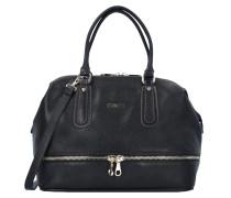 Sole Shopper Tasche Leder 34 cm schwarz