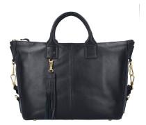Jersey 4 Handtasche Leder 38 cm black
