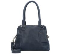 Bag Carfin Umhängetasche Leder 36 cm blue