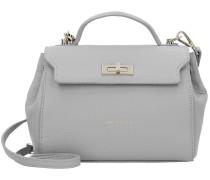 Alena Handtasche Leder 21 cm gris