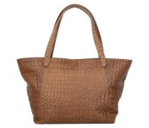 Soho Shopper Tasche Leder 38 cm warm beige