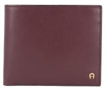 Basics Geldbörse Leder 12 cm brown